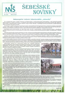 Šebešské novinky page 01
